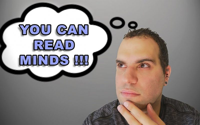 LEARN a SIMPLE way to read anyone's mind! Tutorial by SpideyHypnosis
