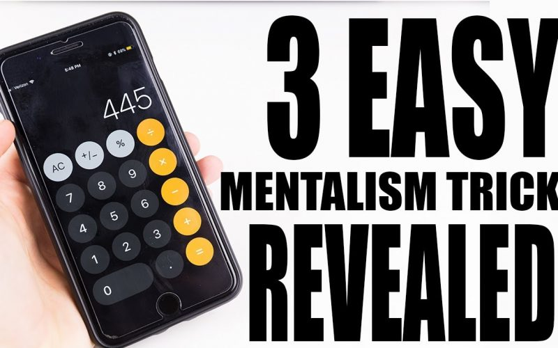 3 EVEN MORE Easy Mentalism Tricks to Fool Anyone! - Magic Tricks REVEALED