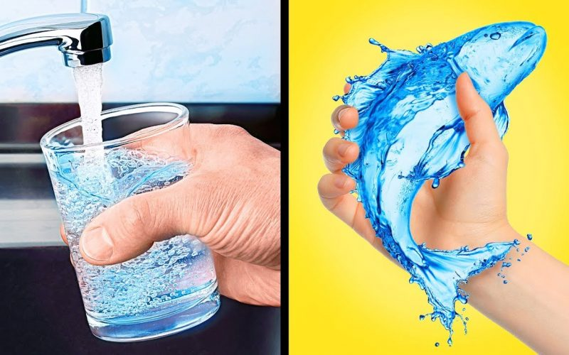 18 WATER TRICKS FOR KIDS