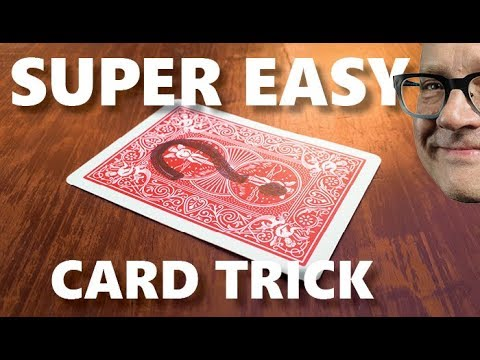 EASY 'Mind Control' Card Trick   Learn Easy Card Trick