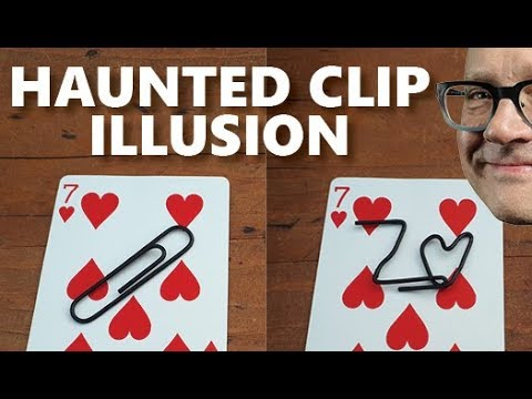 Do EASY Magic Trick with ANY Paper Clip | Magic Trick Tutorial