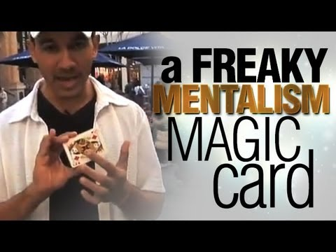 A Freaky Mentalism Magic Card Trick