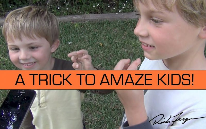 How to AMAZE KIDS with AWESOME Magic Trick Prank YOU CAN DO!