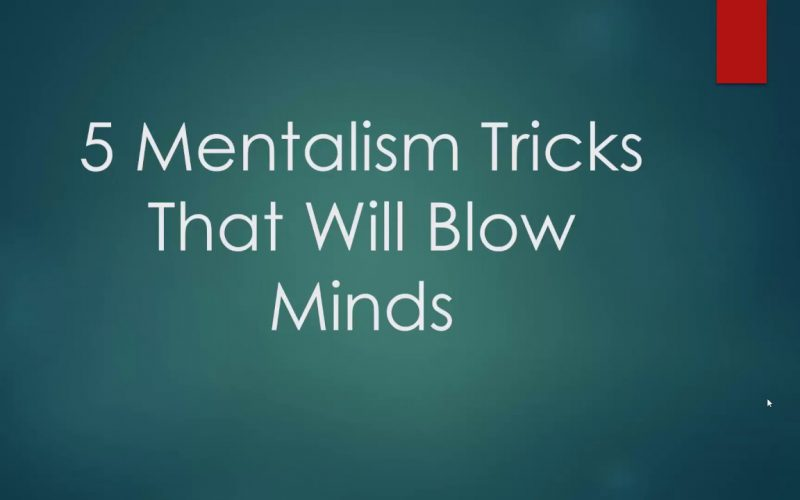 5 EASY Mentalism Tricks You Can Learn Today
