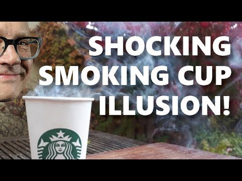 Do EASY Magic Trick with ANY Coffee Cup (Astound Your Friends!)