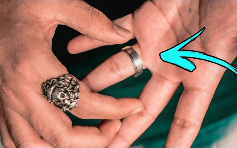 The BEST VISUAL Ring Magic Trick TUTORIAL!!!