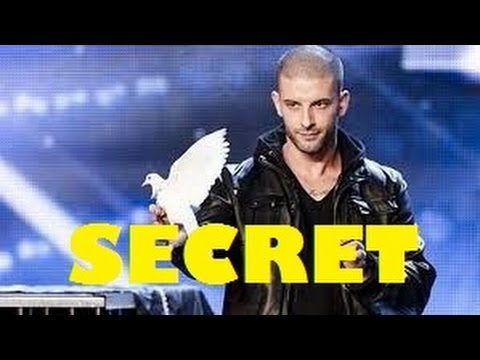 Darcy Oake's jaw-dropping SECRET REVEALED jaw-dropping dove illusions   Britain's Got Talent 2014