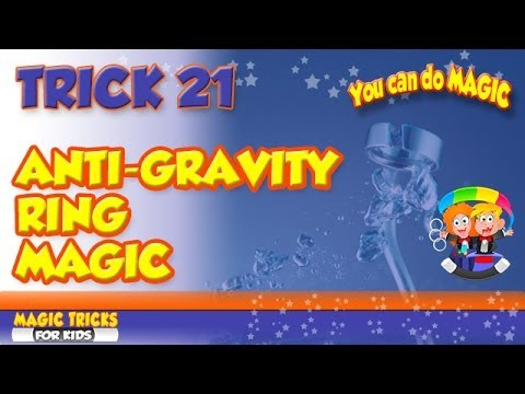 Magic Floating Ring Illusion - How to levitate a ring - Magic trick exposed