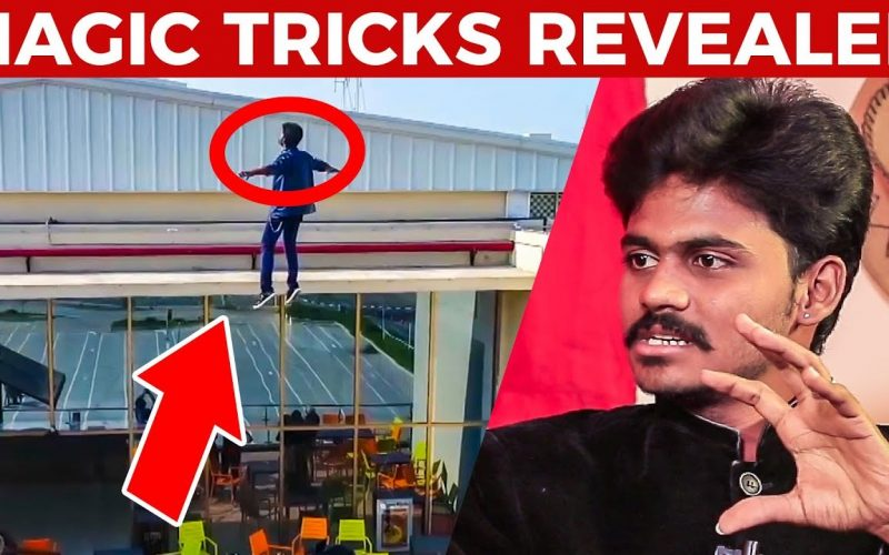 160 Feet Flying Man's MAGIC Trick Revealed! | Magician Vignesh Reveals