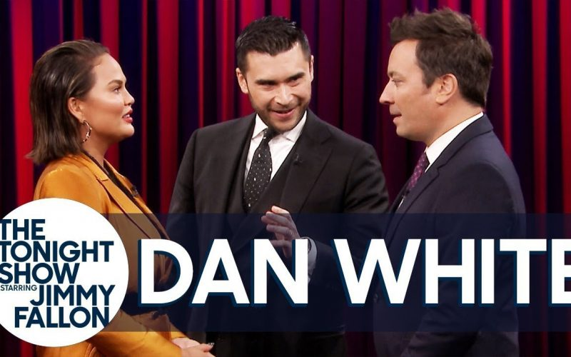 Mind-Reading Magic Trick with Chrissy Teigen and Jimmy Fallon