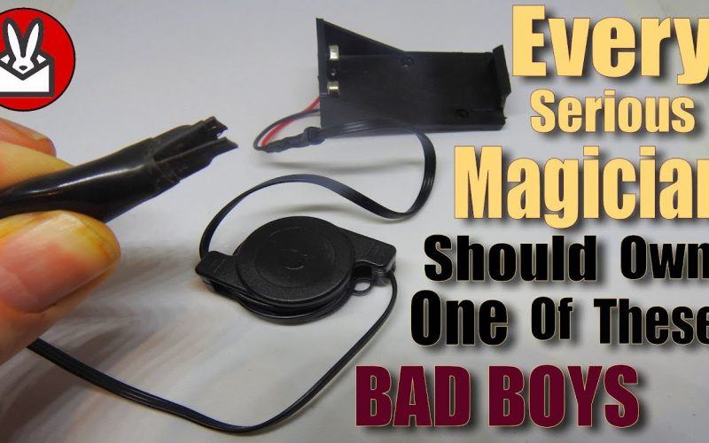 Flash Paper Electronic Igniter and Pull Magic Trick