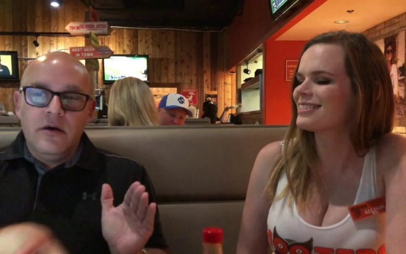 Hooters Girl NLP Experiment #1