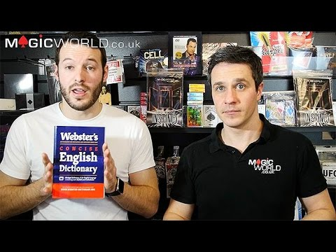 Flictionary by Steve Haresign Book Test Magic Trick