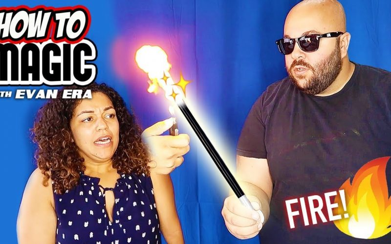 7 FIRE Magic Tricks with Flash Paper! ?