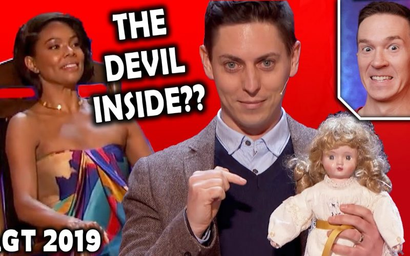 Magician REACTS to Nicholas Wallace DEVIL MAGIC on America's Got Talent 2019