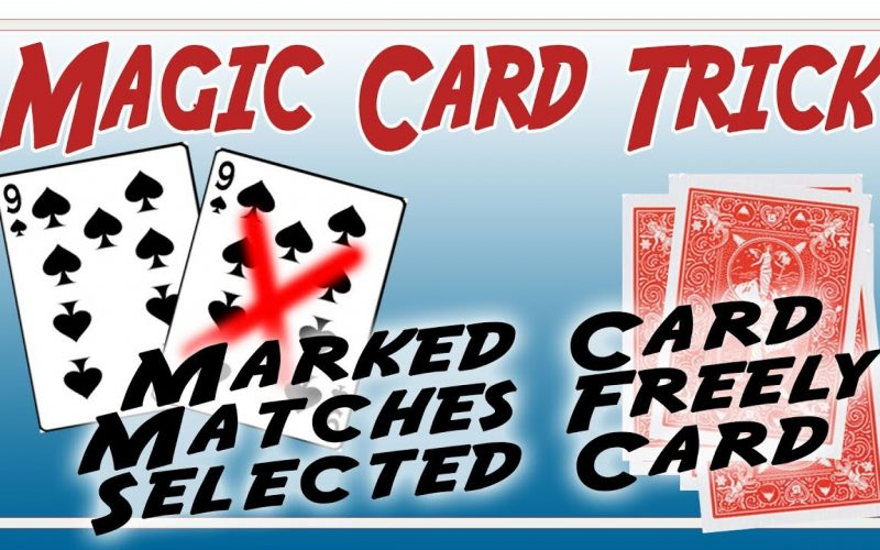 Marked Playing Card Prediction Trick | Easy to Do Magic Card Trick | Unique way of Revealing a Card