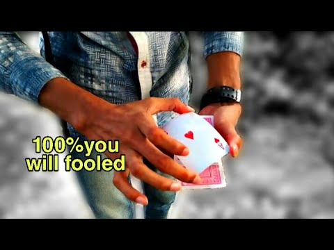 New card trick tutorial in Hindi! Visual card colour change tutorial( shapeshifter card trick)