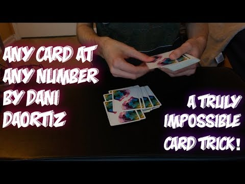 ACAAN (Any Card At Any Number) By Dani DaOrtiz: Performance!