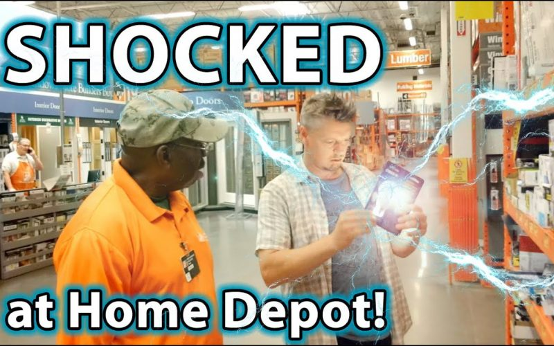 SHOCK Magic Prank on Home Depot Employees!!