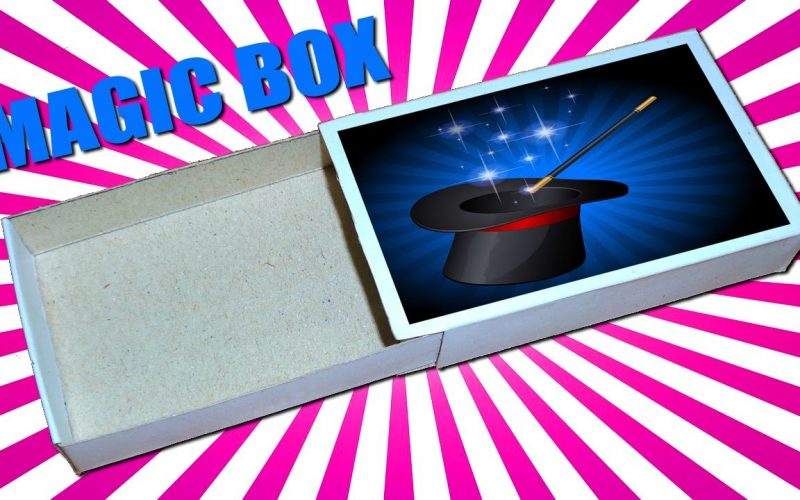 How to Make Paper Magic Box || Magic Tricks For Kids and Your Friends .
