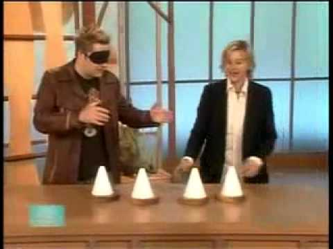 Watch the Real-Life Mentalist on Ellen - Mentalism at its best...