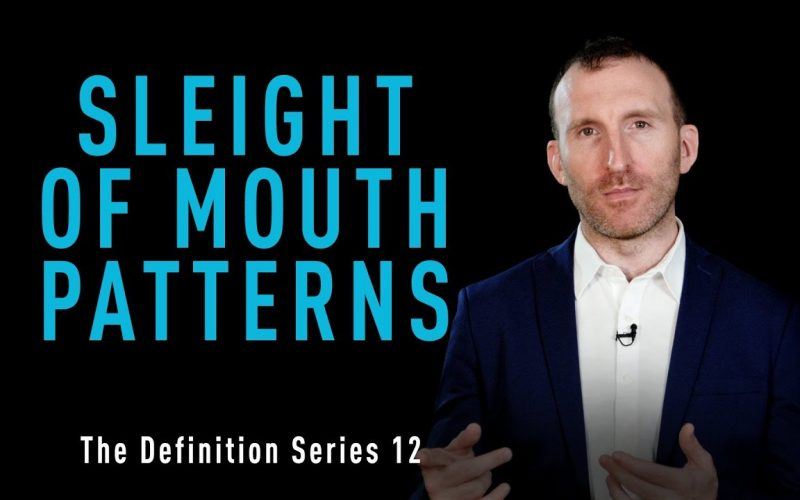 No 12: Sleight of Mouth Patterns - The Definition Series by Owen Fitzpatrick