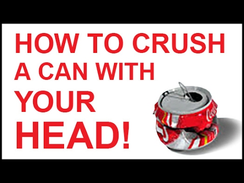 How to Crush a Can with your HEAD | Magic Trick Revealed