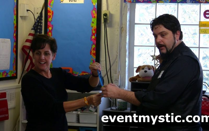 Two Kid's Stage Magic and Mentalism School Classroom Performances