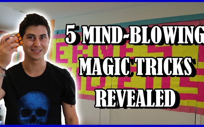 5 MIND-BLOWING MAGIC TRICKS REVEALED