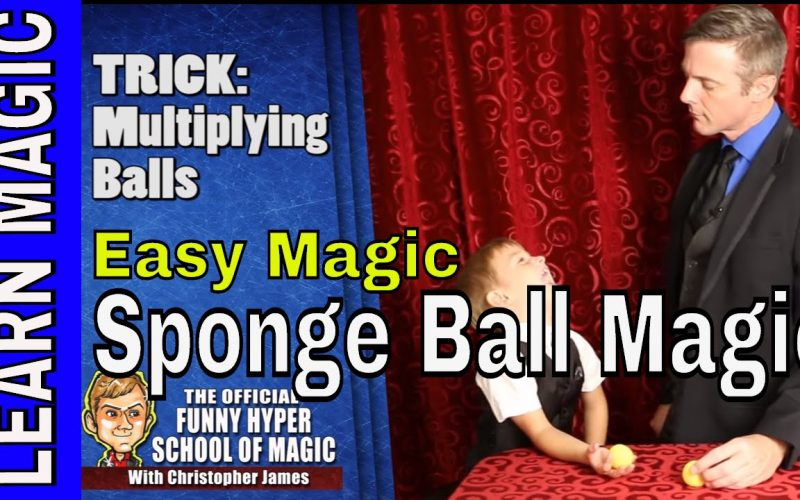 Learn Magic Tricks: Sponge Ball Magic (REVEALED)