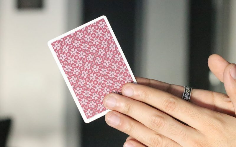 Make Multiple Cards Appear out of Thin Air // Card Trick Tutorial