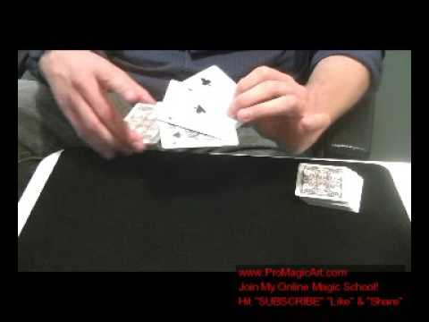 Free Magic Tricks: Cannibal Cards Tutorial