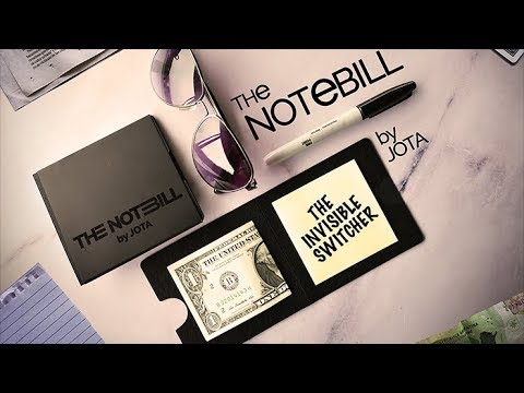 The NOTEBILL by JOTA - A great addition to your magic and mentalism arsenal!