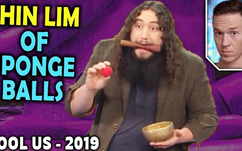 Magician REACTS to Xulio Merino (The SHIN LIM of Sponge Balls) on Penn and Teller FOOL US 2019