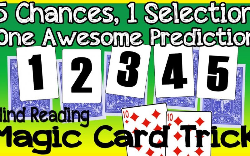 Random Card Prediction Trick | Easy to Perform Magic for Family and Friends - Self Working