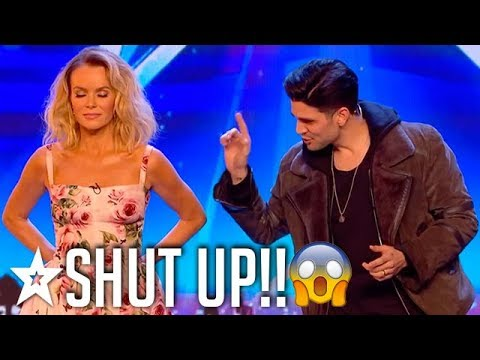 Magician Gets Judge To Perform His Magic Trick!! | Britian's Got Talent | Got Talent Global