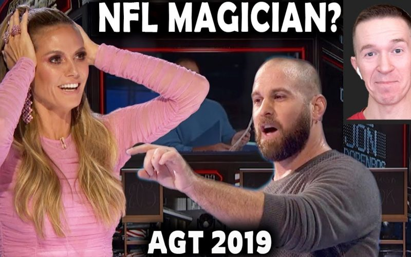 Magician REACTS to Jon Dorenbos in the FINALS of AGT The Champions 2019