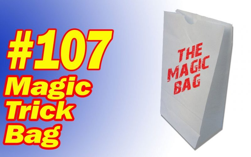 Magic Trick Bag Gag -Fool Your Family And Friends With This