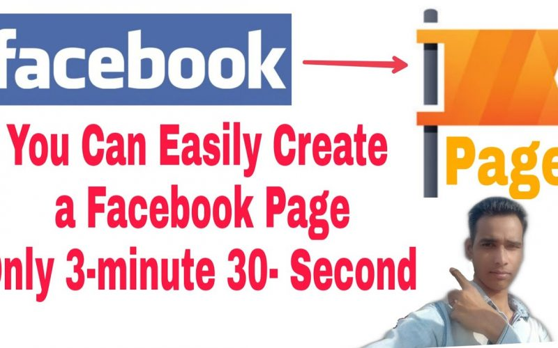 How To Create a Facebook Page How To Create Facebook Page In Hindi...