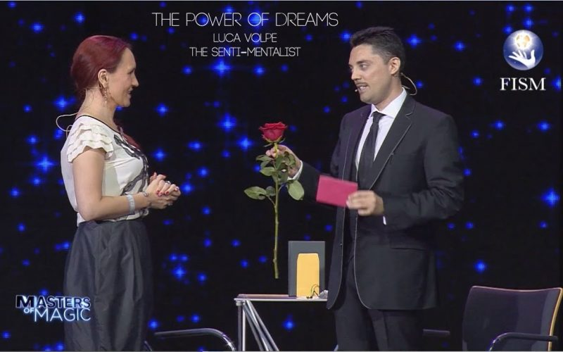 """""""THE POWER OF DREAMS"""" LUCA VOLPE THE SENTI-MENTALIST   FISM ACT"""