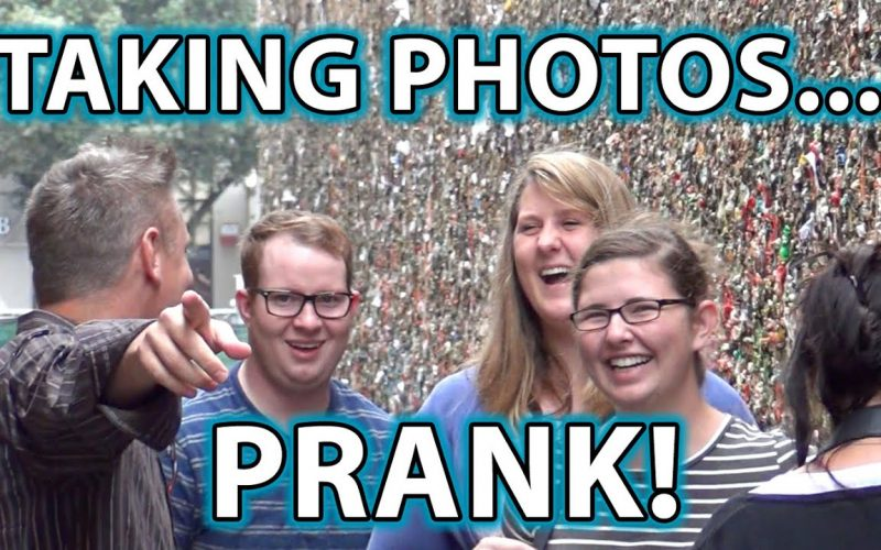 Taking People's Pictures PRANK!!