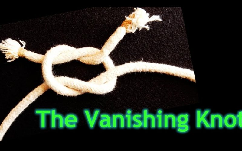 Easy Rope Magic Trick for Beginners and Kids - How to Tie and Vanish a Knot