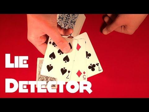 Lie Detector Card Trick Tutorial!