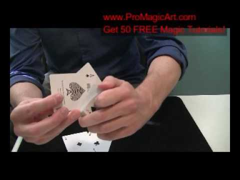Free Magic Tricks:  Simple Gambling Routine Tutorial