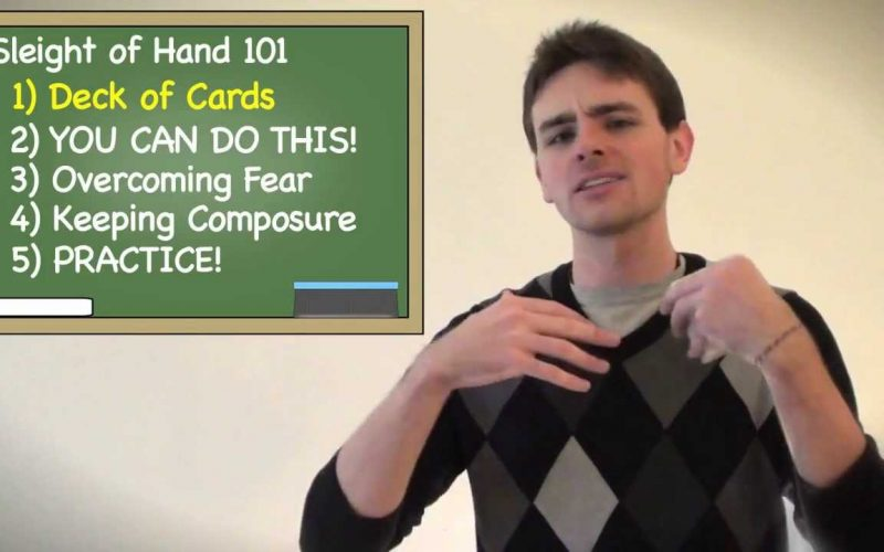 Sleight of Hand 101 | The 5 Essentials to Becoming a Card Magician