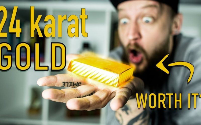 24 KARAT GOLD DECK OF CARDS - Is It Worth It?!