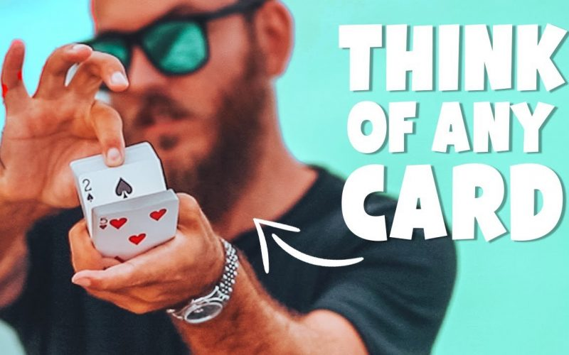 The BEST Mind Reading Card Trick : MAGIC TUTORIAL