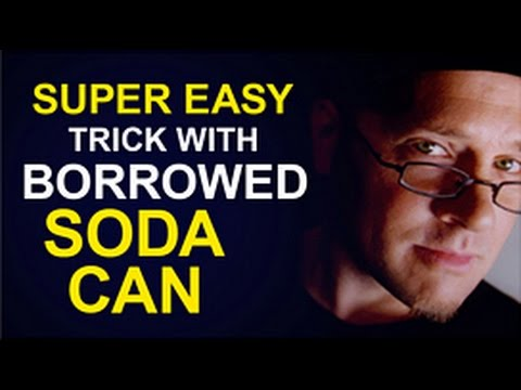 SICK SODA CAN TRICK!