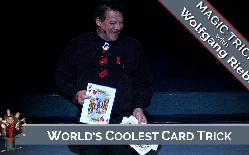The World's Coolest Card Trick: Wolfgang Riebe
