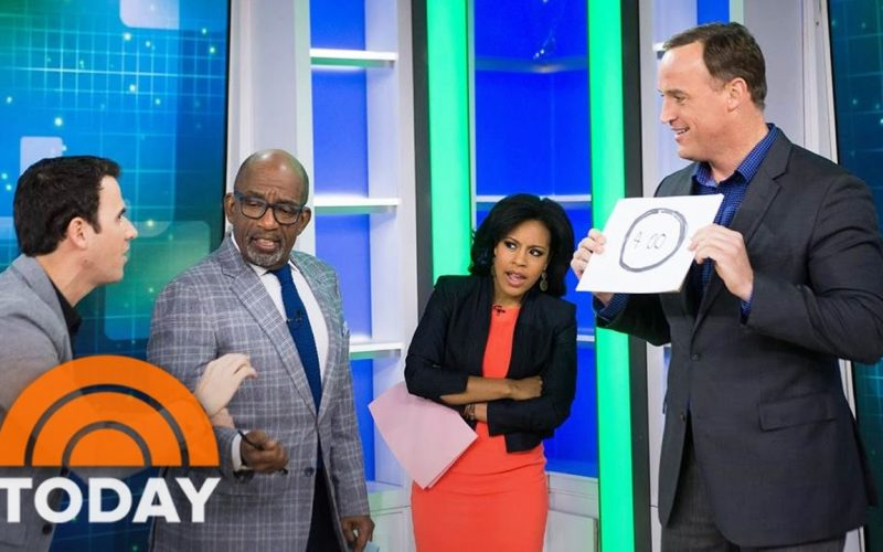 Mentalist Oz Pearlman Plant Ideas In TODAY Anchors' Heads | TODAY